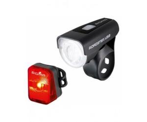 Комплект фонарей Sigma ROADSTER USB K-SET фото, купить, киев, запорожье