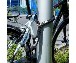 Замок велосипедный на раму ABUS 4850 Chain 6KS 85 black Loop