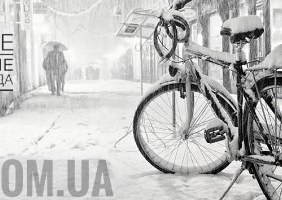 Зимние хранение велосипеда