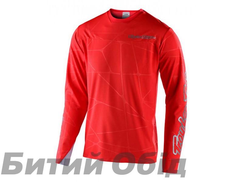 Джерси TLD Sprint Ultra Jersey [Podium Red/Silver]