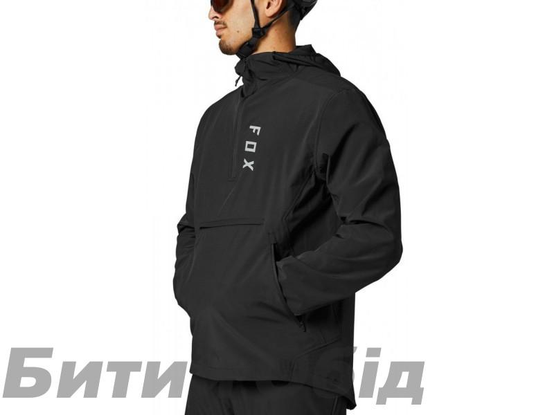 Вело куртка FOX RANGER WIND PULLOVER [Black]