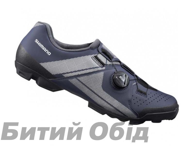 Велообувь SHIMANO XC300MN синее