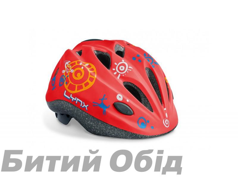 Шлем Lynx Kids Matt Red фото, купить, киев, запорожье