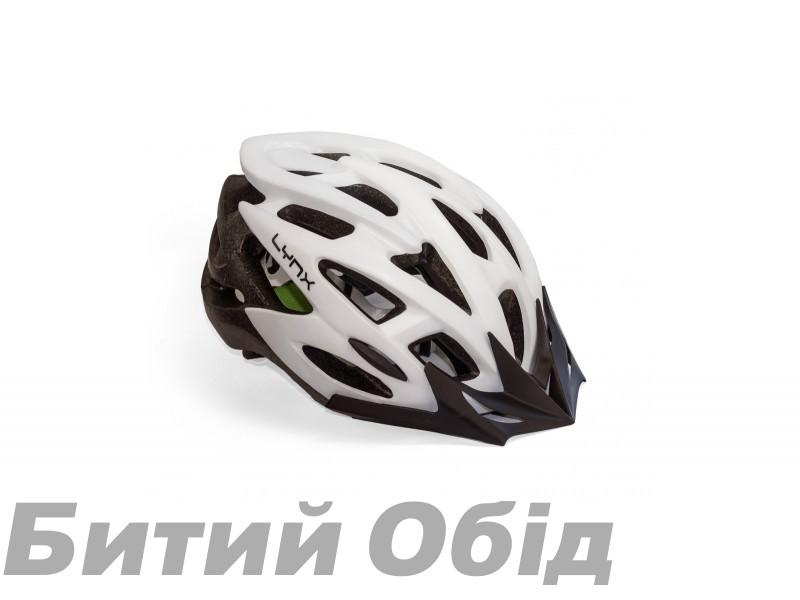 Шлем Lynx Morzine Matt White фото, купить, киев, запорожье