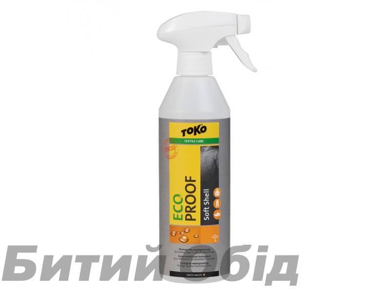 Пропитка TOKO Eco Soft Shell Proof 500ml