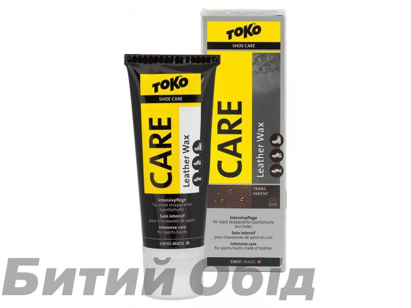 Воск TOKO Leather Wax transparent silicon 75ml
