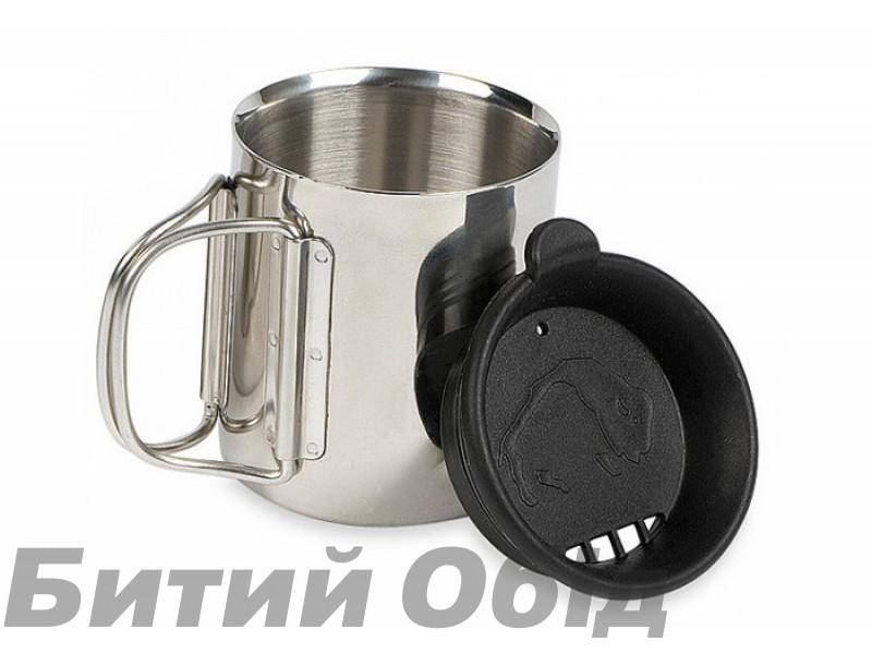 Термокружка с крышкой Tatonka Thermo 250 (Silver/Black)