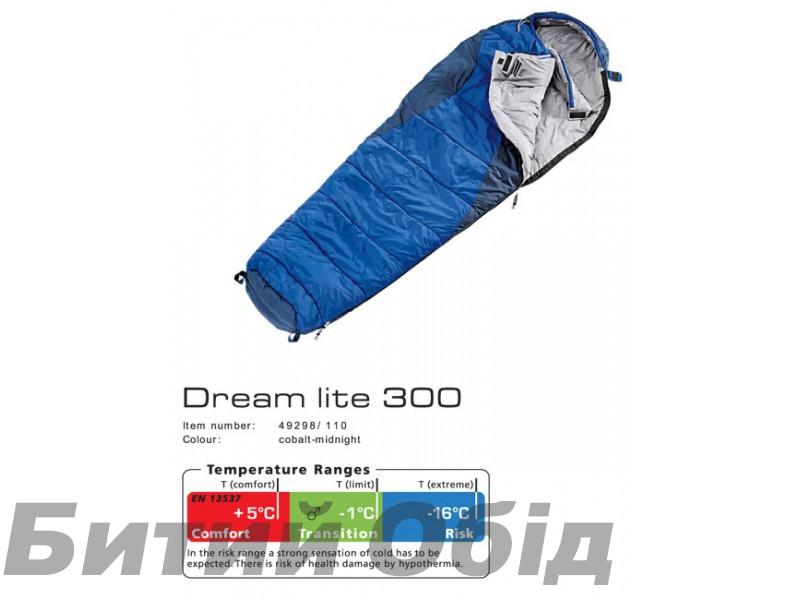 Спальник DEUTER Dream Lite 300