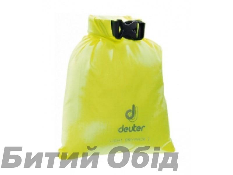 Гермомешок Deuter Light Drypack 1l