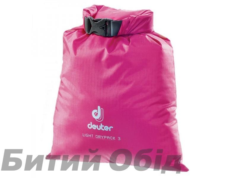 Гермомешок Deuter Light Drypack 3l фото, купить, киев, запорожье