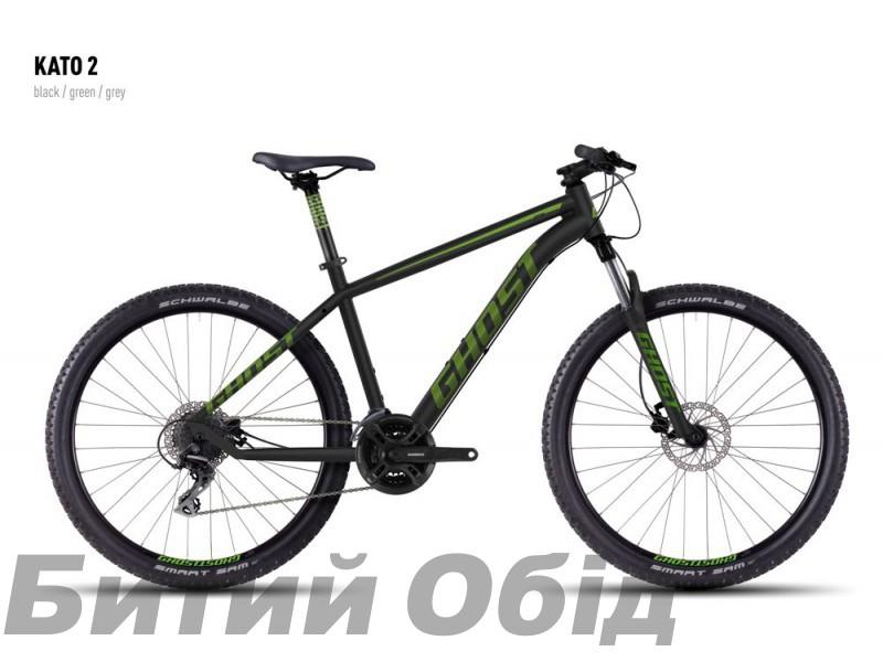 Велосипед Ghost Kato 2 2016 года фото, купить, киев, запорожье