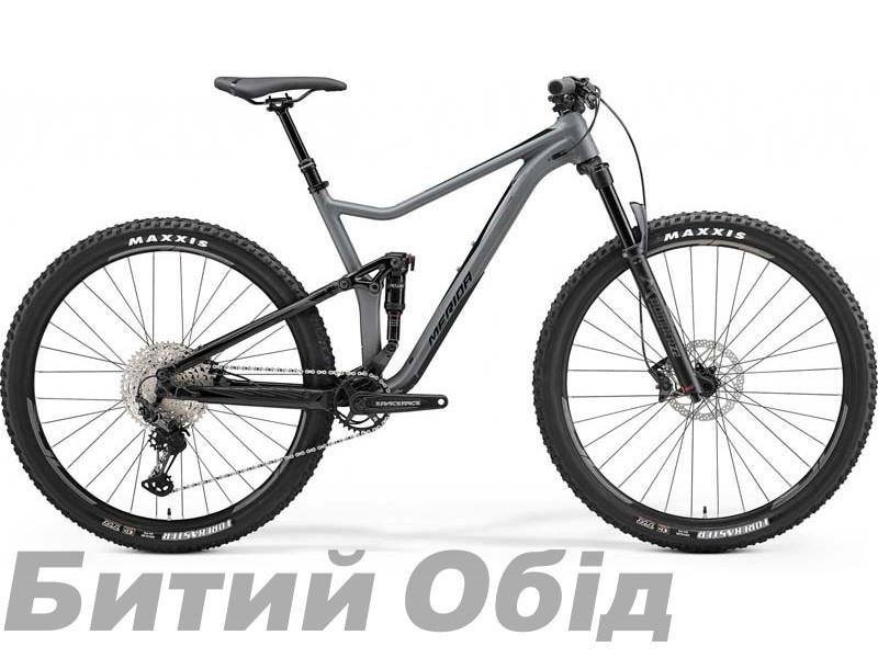 Велосипед MERIDA ONE-TWENTY 600 MATT GREY/GLOSSY BLACK 2021 год