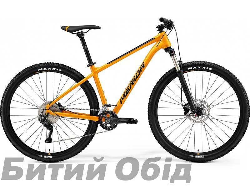 Велосипед MERIDA BIG.NINE 300 ORANGE(BLACK) 2021 год