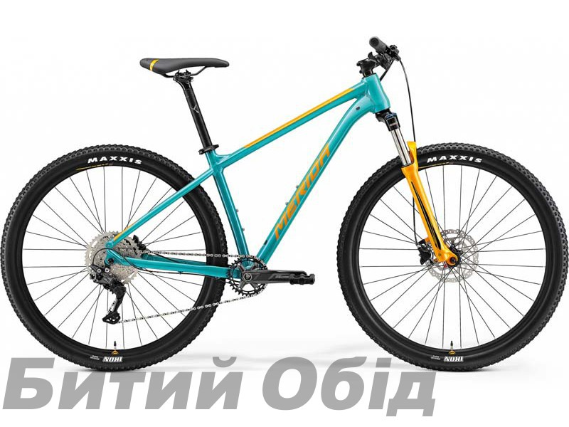 Велосипед MERIDA BIG.NINE 200 TEAL-BLUE(ORANGE) 2021 год