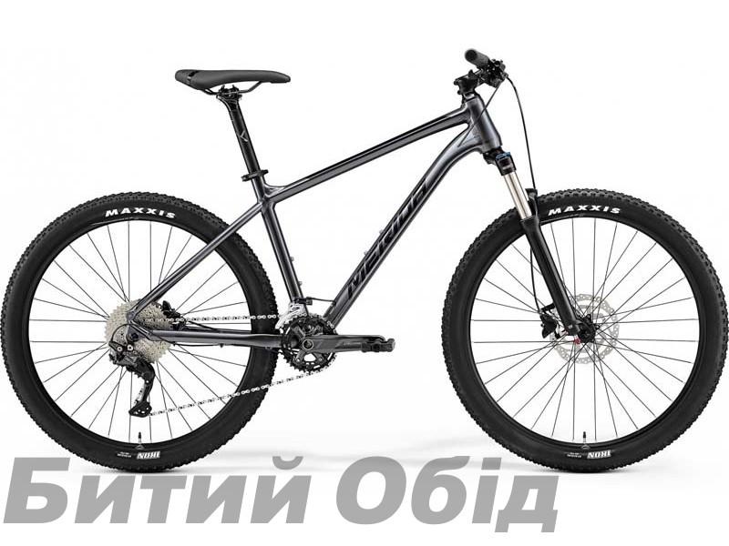 Велосипед MERIDA BIG.SEVEN 300 ANTHRACITE(BLACK) 2021 год
