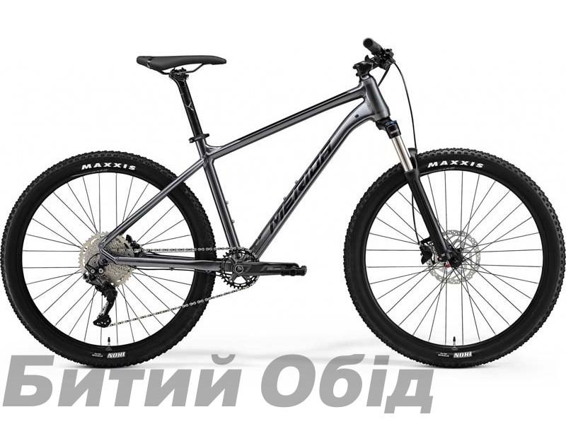 Велосипед MERIDA BIG.SEVEN 200 ANTHRACITE(BLACK) 2021 год