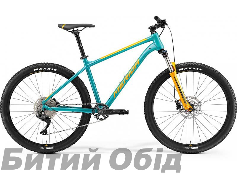Велосипед MERIDA BIG.SEVEN 200 TEAL-BLUE(ORANGE) 2021 год