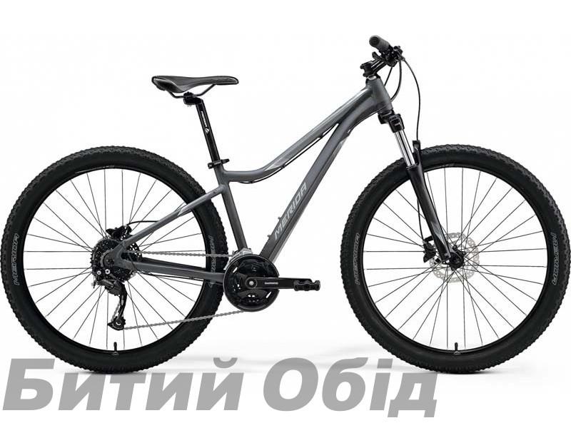 Велосипед MERIDA MATTS 7.30 MATT COOL GREY(SILVER) 2021 год