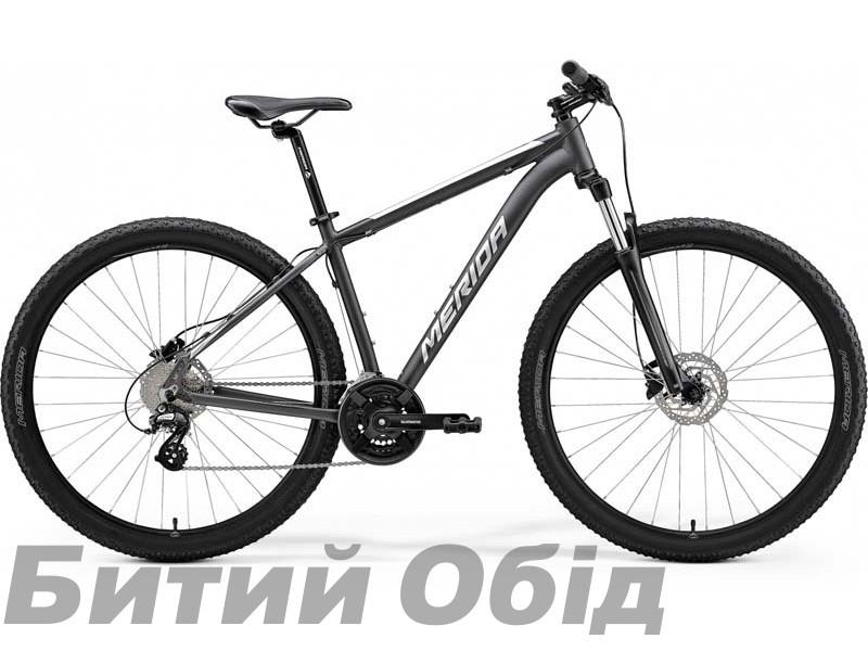 Велосипед MERIDA BIG.NINE 15 MATT ANTHRACITE(SILVER) 2021 год