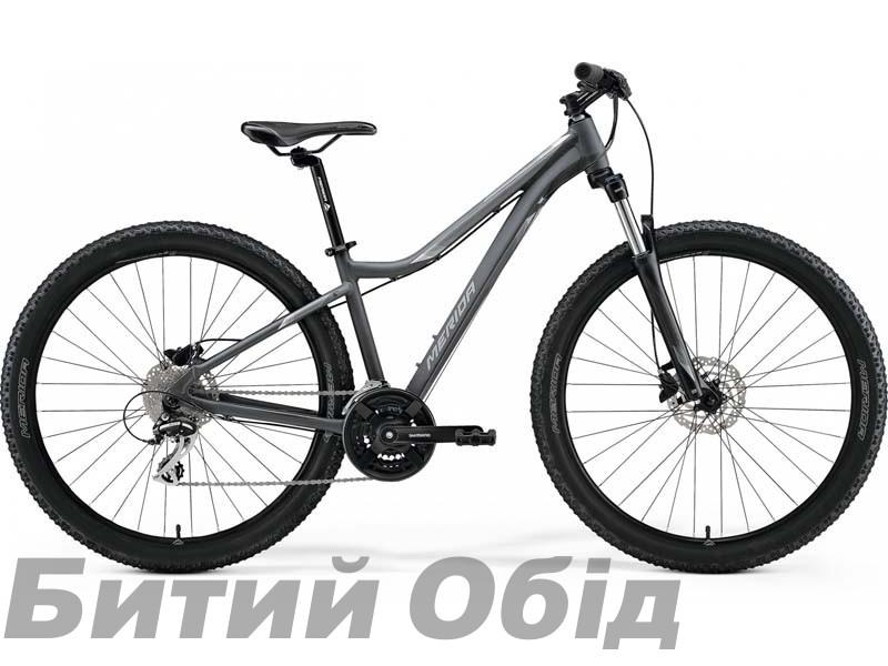 Велосипед MERIDA MATTS 7.20 MATT COOL GREY(SILVER) 2021 год