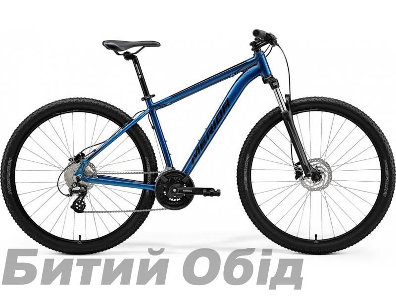 Велосипед MERIDA BIG.NINE 15 BLUE(BLACK) 2021 год