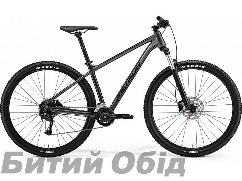 Велосипед MERIDA BIG.NINE 100-2X ANTHRACITE(BLACK) 2021 год