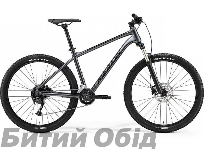 Велосипед MERIDA BIG.SEVEN 100-2X ANTHRACITE(BLACK) 2021 год