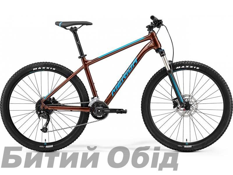 Велосипед MERIDA BIG.SEVEN 100-2X BRONZE(BLUE) 2021 год