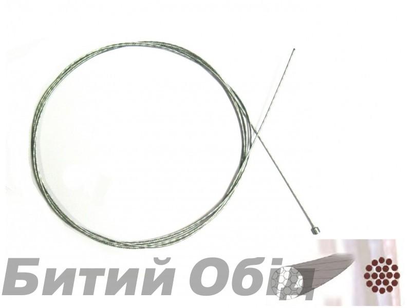 Нержавеющий полированный тросик переключения 2100 mm Sheng-An фото, купить, киев, запорожье