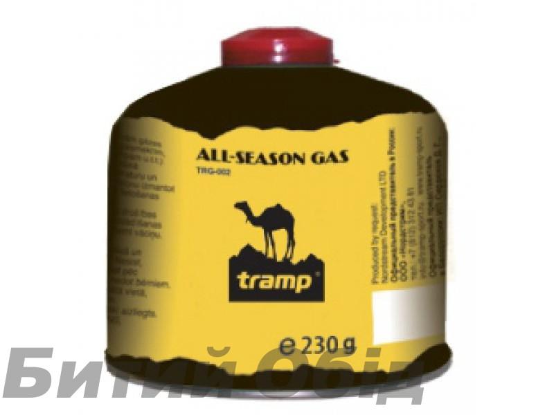 Баллон газовый 230гр Tramp TRG-003 фото, купить, киев, запорожье