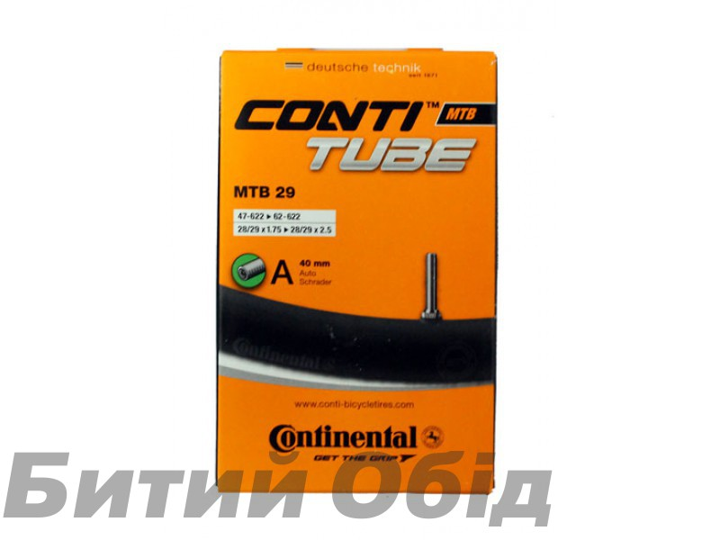 Камера Continental MTB 29 A40mm