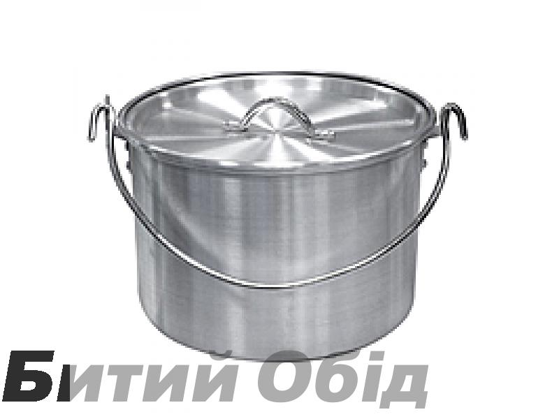 Котел алюминиевый с крышкой 4,8 л Tramp TRC-055 фото, купить, киев, запорожье