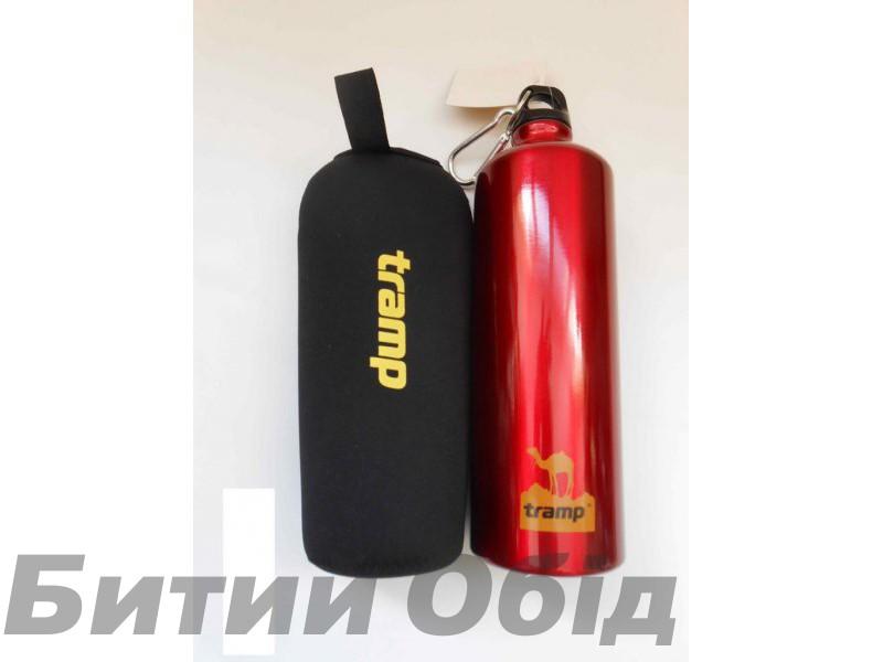 Бутыль алюминиевая в чехле из неопрена Tramp Bottle TRC-032 фото, купить, киев, запорожье
