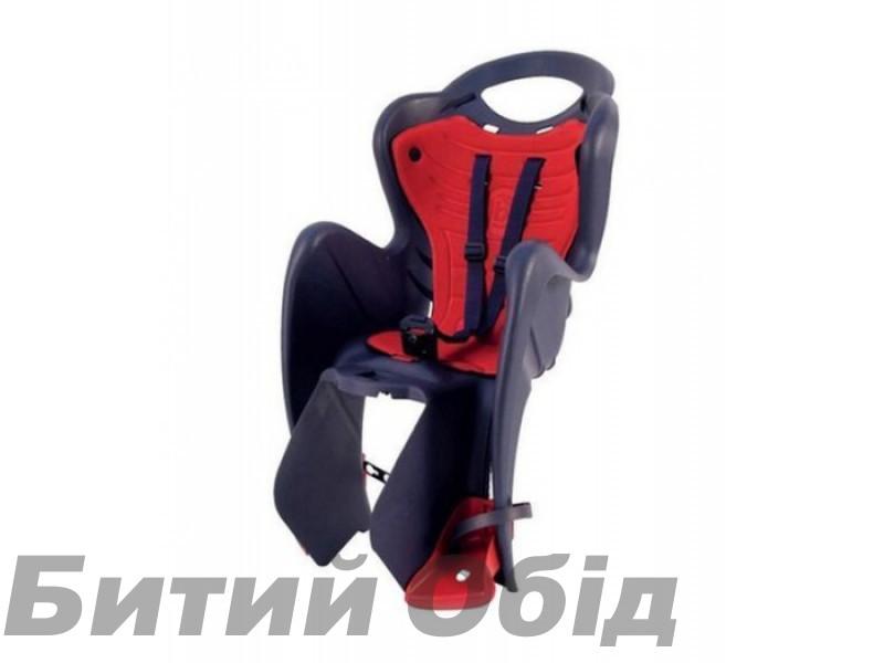 Сиденье детское Bellelli MR Fox Standart B-Fix серое с красной подкладкой