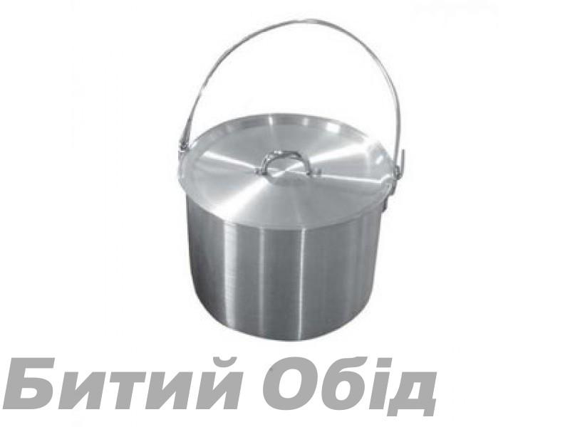 Котел алюминиевый с крышкой 9 л Tramp TRC-056 фото, купить, киев, запорожье