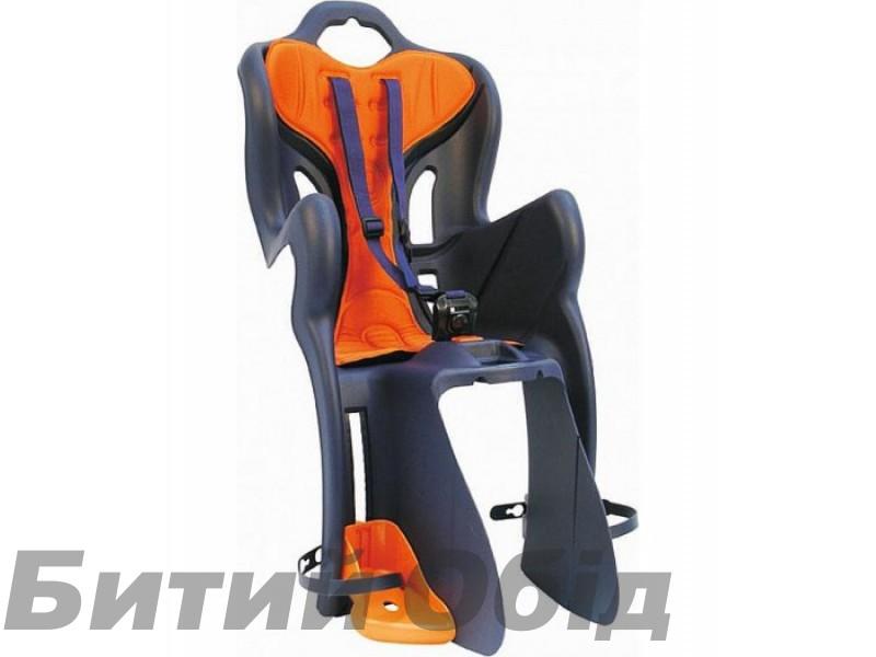 Сиденье детское заднее BELLELLI B1 Standart оранжевое с черным фото, купить, киев, запорожье