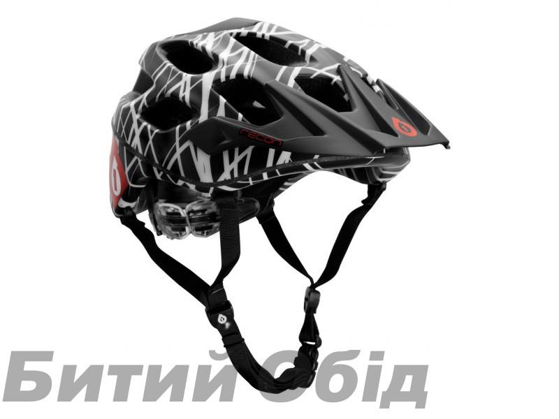 Шлем SixSixOne Recon WIRED black red