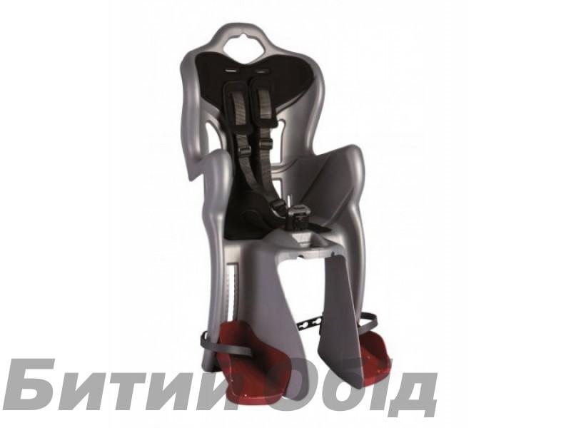 Сиденье детское заднее BELLELLI B1 Standart серый с черным фото, купить, киев, запорожье