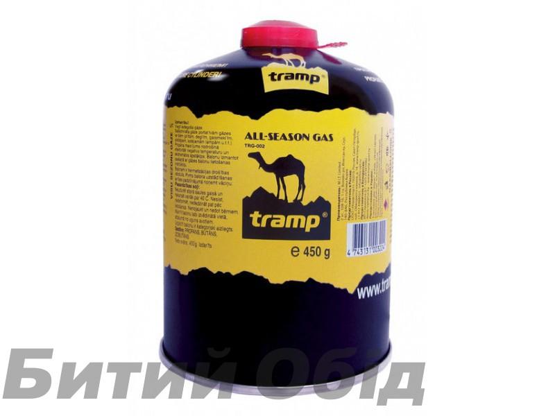 Баллон газовый 450гр Tramp TRG-002 фото, купить, киев, запорожье