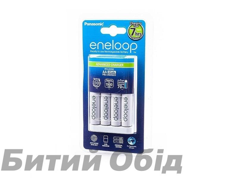 Зарядное устройство Basic Charger+ Eneloop 4AAA 750 mAh NI-MH фото, купить, киев, запорожье