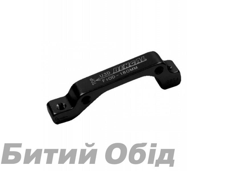 Адаптер торм. калипера Bengal передн., 180mm, черн. IS