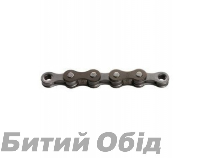 Цепь инд. 116 зв. 1/2x3/32 KMC Z33 brown/grey 6ск