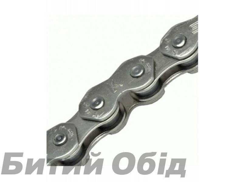 Цепь инд. 100 зв. 1/2x3/32 KMC K810 silver/silver