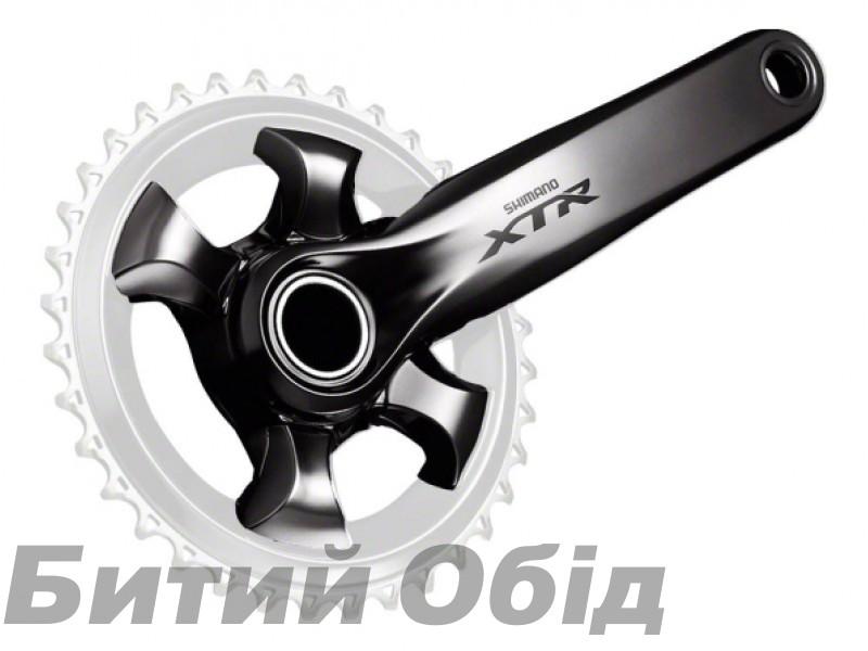 Шатуны Shimano XTR FC-M9000-1, Hollowtech II 175мм, 36зуб. без звезды, без компонентов каретки SM-BB93 фото, купить, киев, запорожье
