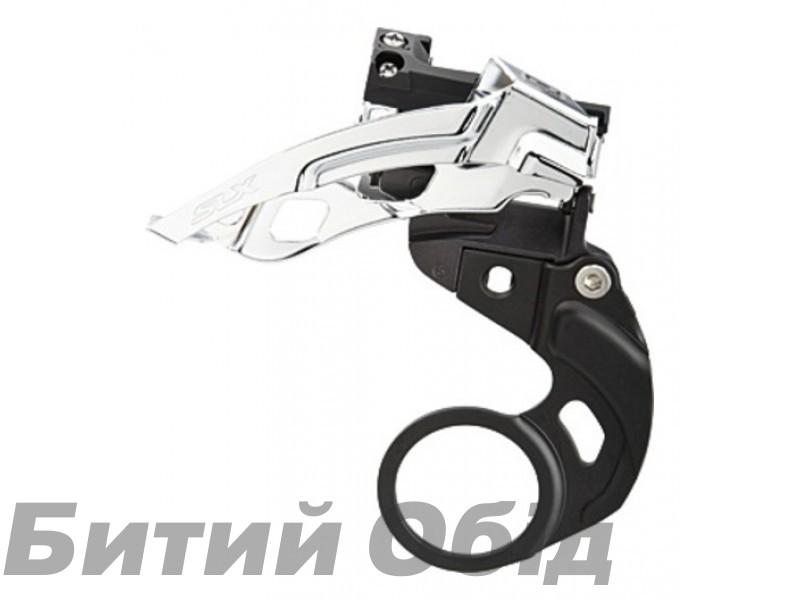 Переключатель передний Shimano FD-M675-E SLX, 2X10 E-TYPE Top-Swing фото, купить, киев, запорожье