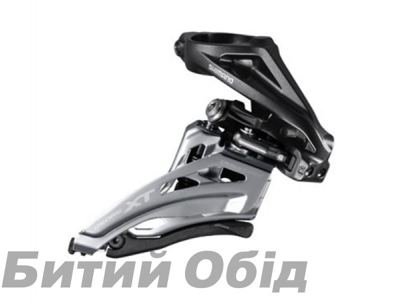 Переключатель передний Shimano FD-M8000-H DEORE XT, 3X11 HIGH CLAMP, SIDE-SWING фото, купить, киев, запорожье
