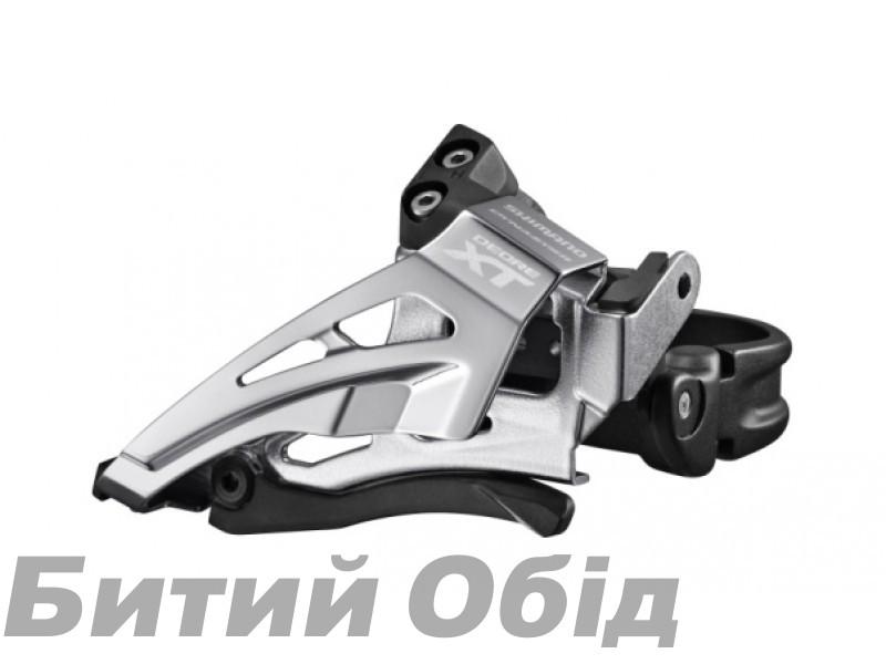 Переключатель передний Shimano FD-M8025-L DEORE XT, 2X11 LOW CLAMP, TOP-SWING фото, купить, киев, запорожье