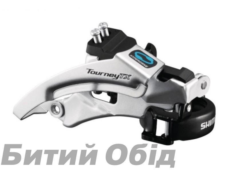 Переключатель передний Shimano FD-TX800 TOURNEY TX, TOP-SWING