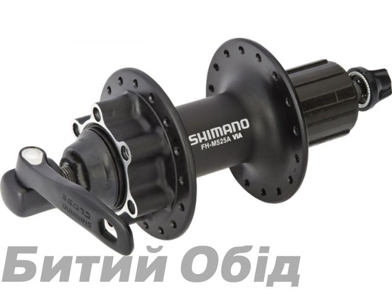 Втулка задняя Shimano FH-M525, для диск торм, 36сп. 8/9-зв., черн, для ротора на 6 болтов фото, купить, киев, запорожье