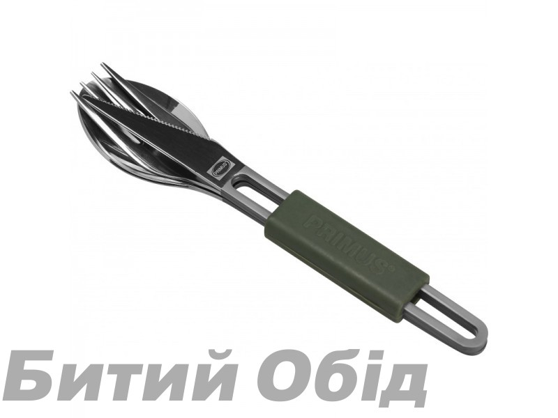 Столовый набор Primus Leisure Cutlery Titanium фото, купить, киев, запорожье